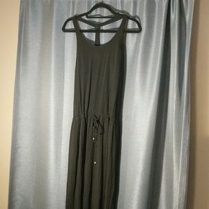Black athleta maxi dress